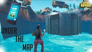 HOW TO GET TO BATTLE ROYALE MAP AND IN CREATIVE MODE GLITCH | FORTNITE BATTLE ROYALE |