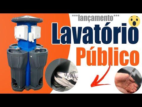 🆕lavatório portátil 👉 lavatório público 2020 - Covid-19 Lançamento video
