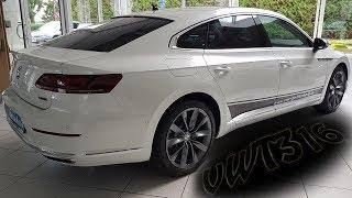 """Volkswagen Arteon Elegance Interieur Ambientebleuchtung 3farbig Dekoreinlagen """"Silver Birch"""" Teil 4"""