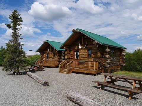 What An Amazing Lodge (HD) - Private Cabin At Alaska's Gold Creek Lodge In King Salmon, Alaska