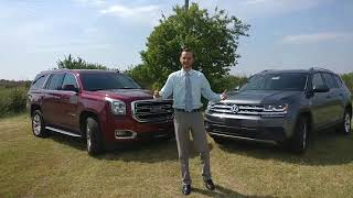 2018 Atlas Vs 2018 GMC Yukon (3rd-row seating & cargo space)