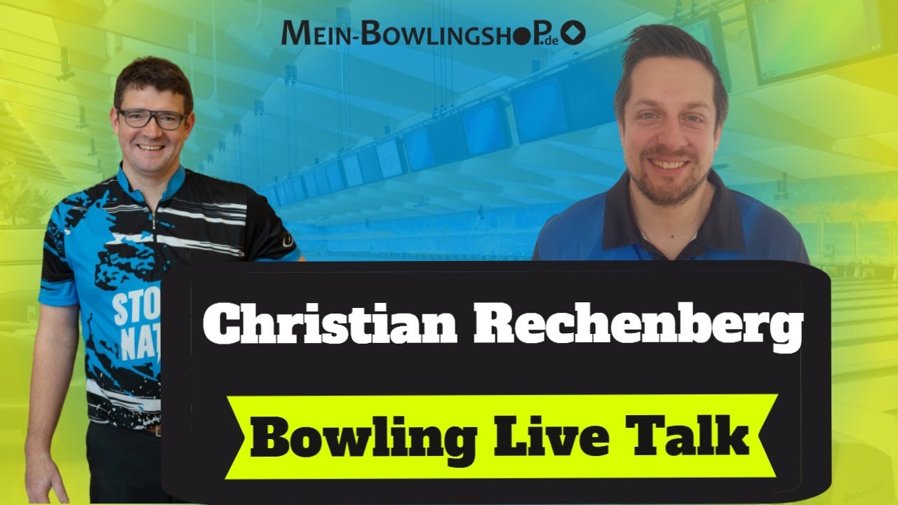 Christian Rechenberg im Bowling Interview mit Manuel Mrosek - Emax Bowling Live Talk