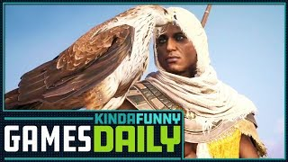 Assassin Creed Gets Difficulty Levels - Kinda Funny Games Daily 10.05.17