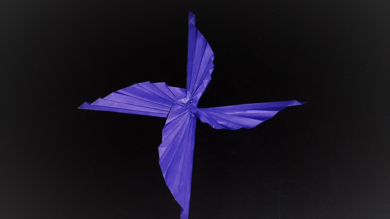 ORIGAMI 4 Bladed Dragon Winged Propeller
