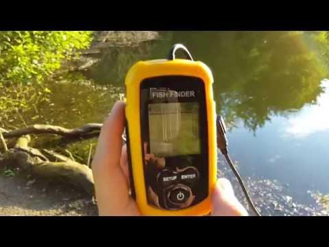 Test Détecteur De Poisson | Sonar | Ultrasons