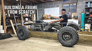 1000cc Mini Trophy Truck Build Pt. 2 | Hanging the Engine & Finishing the Frame!