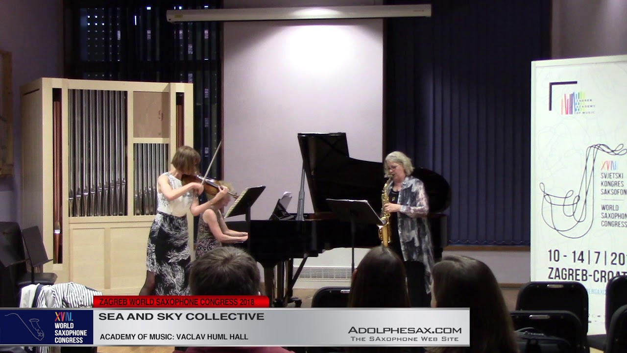 Cantilene et Danse Trio by Marc Eychenne   Sea and Sky Collective   XVIII World Sax Congress 2018 #a