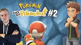 Walka z Brockiem! (Pokemon Let's GO Pikachu ! odc. #2)