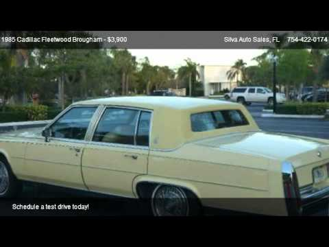 1985 Cadillac Fleetwood Brougham Brougham Sedan  for sale in
