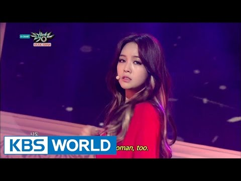 Girl's Day MinAh - I Am A Woman Too | 걸스데이 민아 - 나도 여자예요 [Music Bank Solo Debut / 2015.03.20]