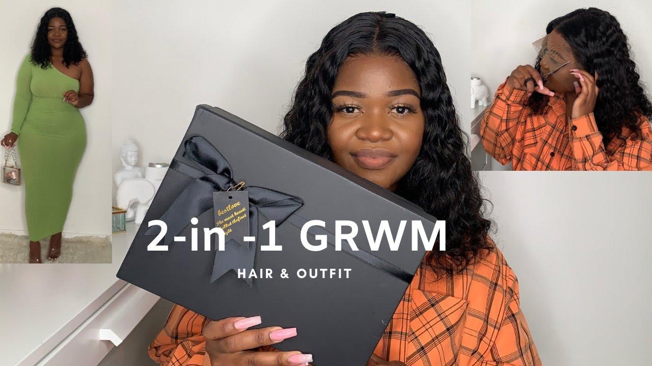 2 IN 1 GRWM HAIR  + OUTFIT FT AERYN 21 WIGS   POST QUARANTINE DATE NIGHT LOOK