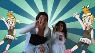 Parmak Aile Şarkısı Türkçe - Sevimli Dostlar Çizgi Film Bebek Şarkıları İlkim ve Annesi