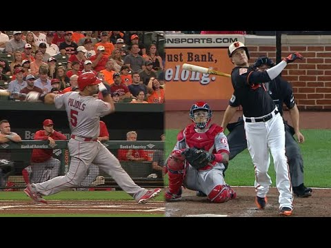 LAA@BAL: The Angels and Orioles combine for 10 HRs