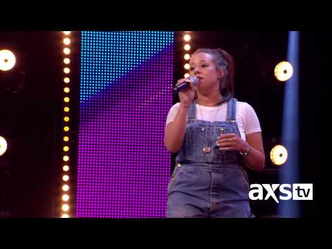 "Kerrianne Covell  sings Carrie Underwood's ""I Know You Won't"" on The X Factor UK on AXS TV"