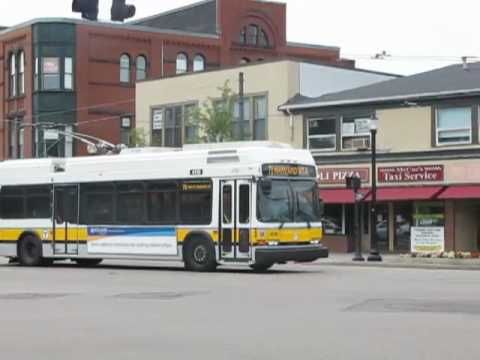 Massachusetts Bay Transportation Authority Bus & Trackless Trolley System