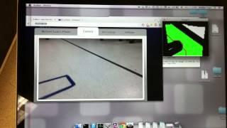 Autonomous car navigation using Raspberry Pi and SimpleCV