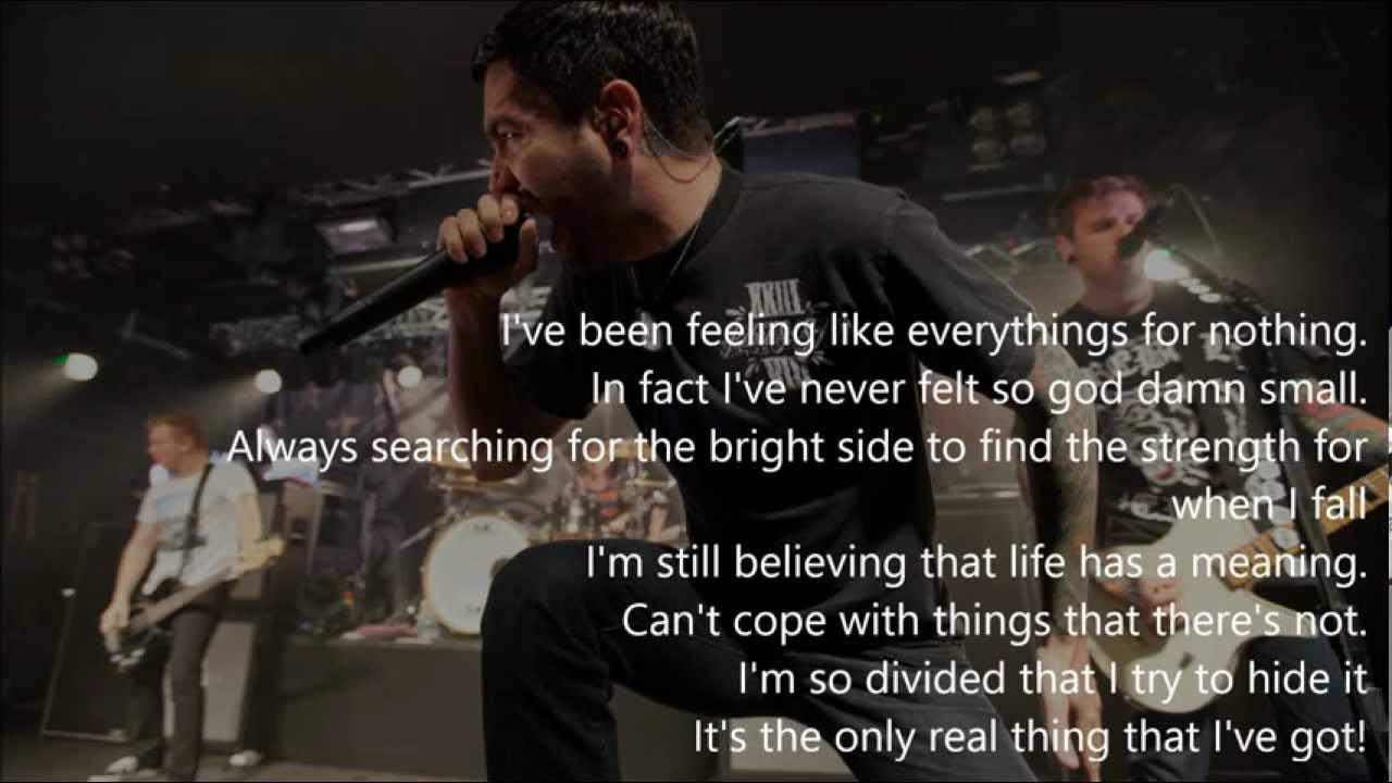 A DAY TO REMEMBER - VIOLENCE (ENOUGH IS ENOUGH) W/ LYRICS ... A Day To Remember Violence Lyrics