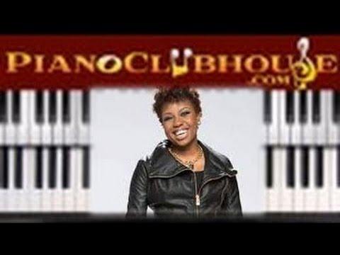 🎹 FILL ME UP - Casey J (easy gospel piano lesson tutorial) - YouTube