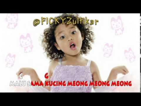 Romaria-Malu Sama Kucing (Karaoke Video Lyrics) No Vocal And Chord