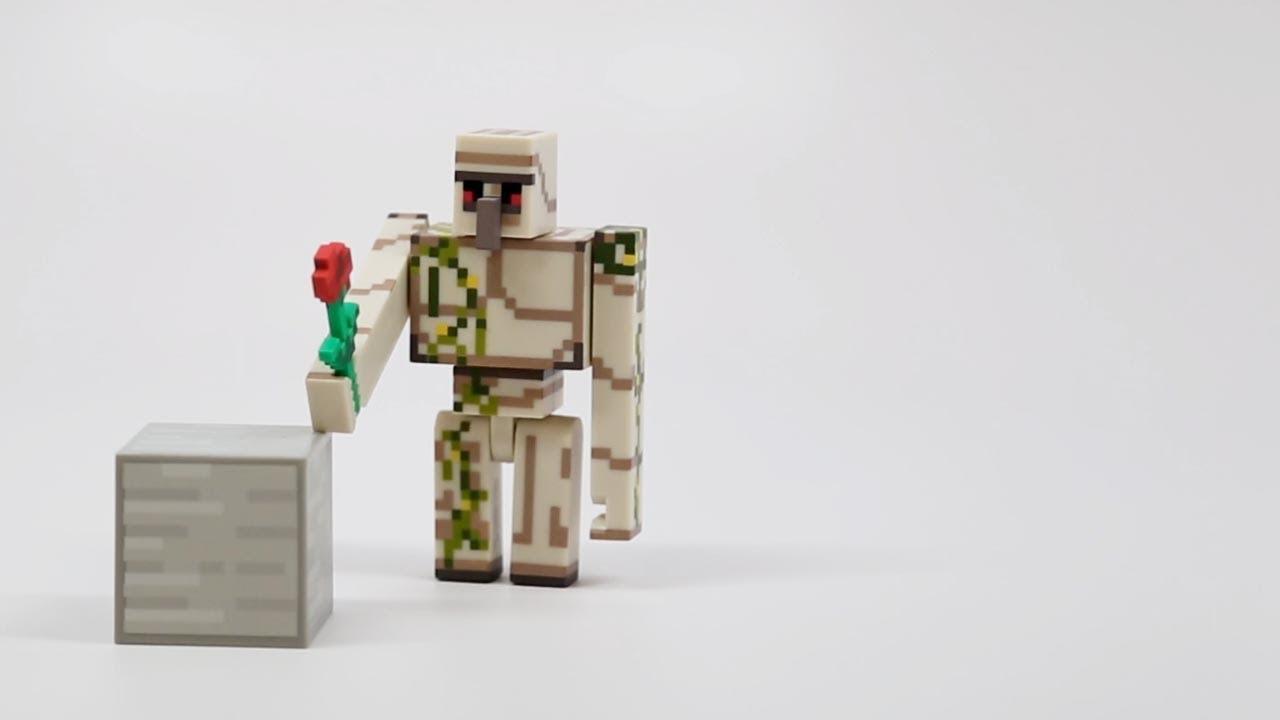 lego minecraft iron golem instructions