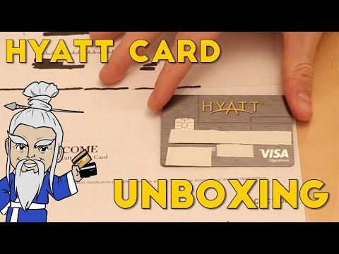 HYATT Visa Signature Card UNBOXING + Perks Explained