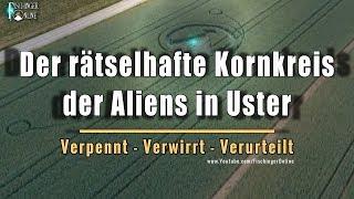 Der (vermeintlich) sensationelle Kornkreis der Aliens in Uster: Was soll das, bitte?!
