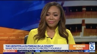 Nurse Alice on KTLA: Hepatitis A Outbreak in LA County — What You Should Know To Protect Yourself