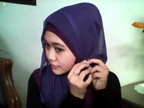 Hijab Tutorial Square Paris Part.2