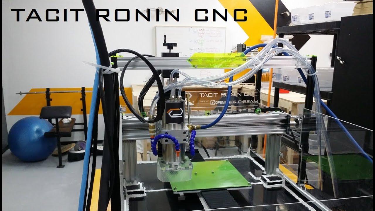 TACIT RONIN CNC - Flood Coolant Enabled C-Beam | OpenBuilds
