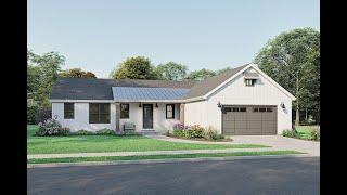 Exclusive Modern Farmhouse Plan 1462 00023