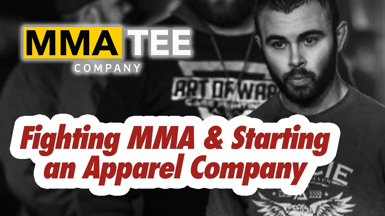 Interviewing John Brennan, Co-Founder of MMA Tee Company