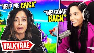 Valkyrae Returns to Fortnite (Battle Royale) Chica