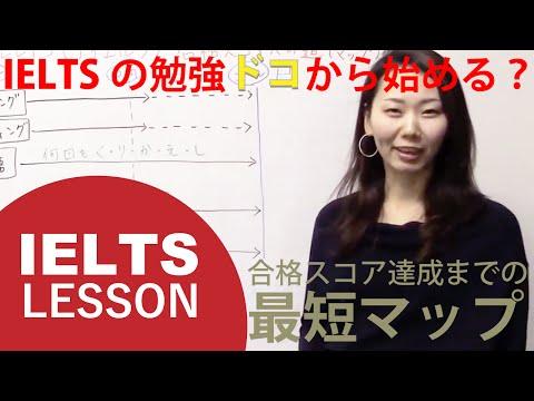IELTSの勉強どこから始める?スタートから合格スコア達成までの最短マップ