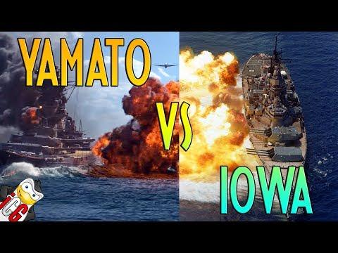 Iowa vs  Yamato - Who Would Win?