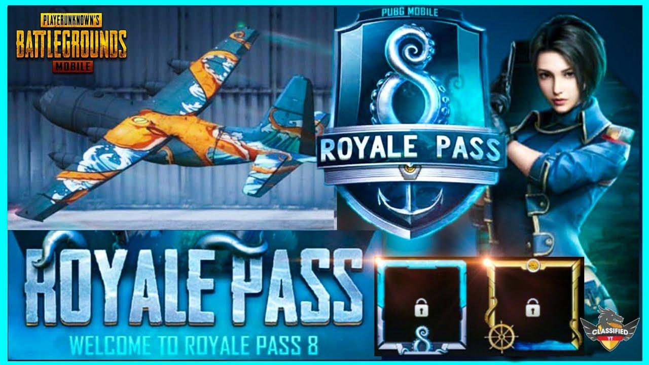 Season 8 Royal Pass Leaks Request Feature Plane Skin New Gun
