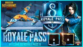 SEASON 8 ROYAL PASS LEAKS - REQUEST FEATURE, PLANE SKIN, NEW GUN (PUBG MOBILE)