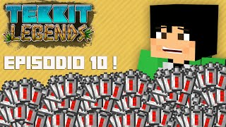 Tekkit Legends | Nadando nas baterias! | #10