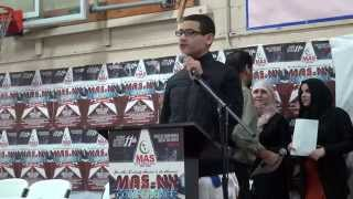 Muslim Youth Children Andalusia Islamic School Center Yonkers MAS NY Annual Conference 2014