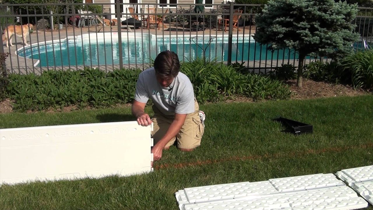 How To Install Plastic Boards For Your Backyard Ice Rink 2012 NiceRink