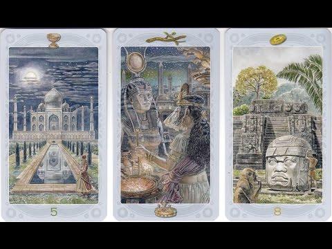 Sacred Sites Tarot - Lo Scarabeo