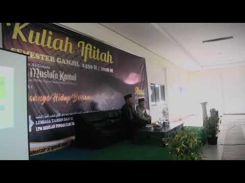 Kuliah Iftitah Semester Ganjil 1439 H/ 2018M