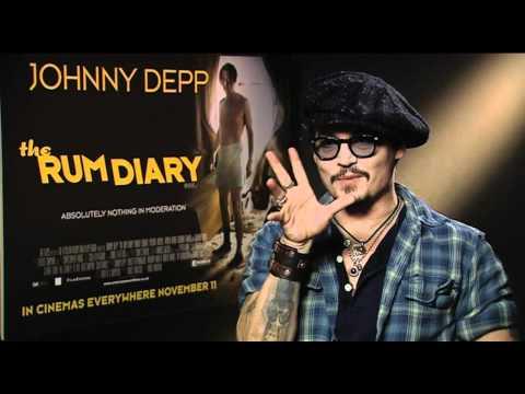 Johnny Depp Interview -- The Rum Diary   Empire Magazine