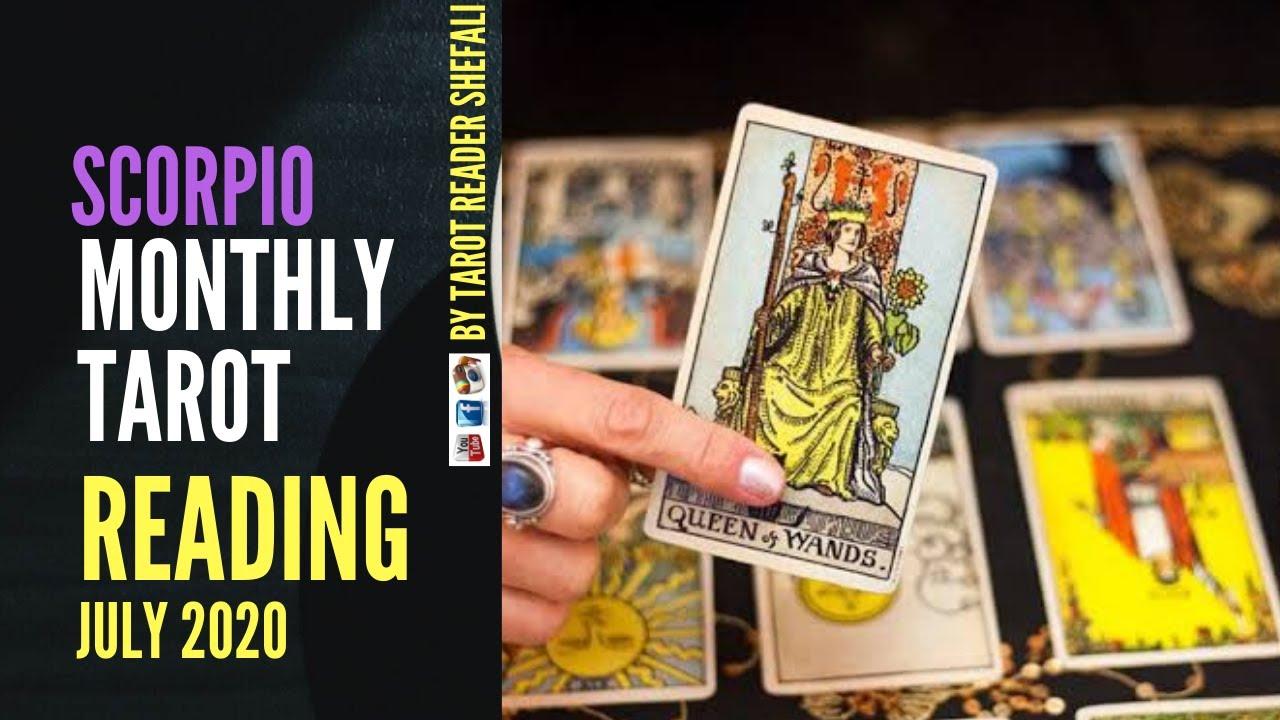 Scorpio Tarot Reading Forecast July 2020 | English