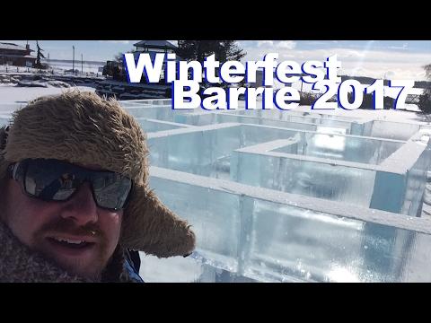 Barrie's Winterfest 2017