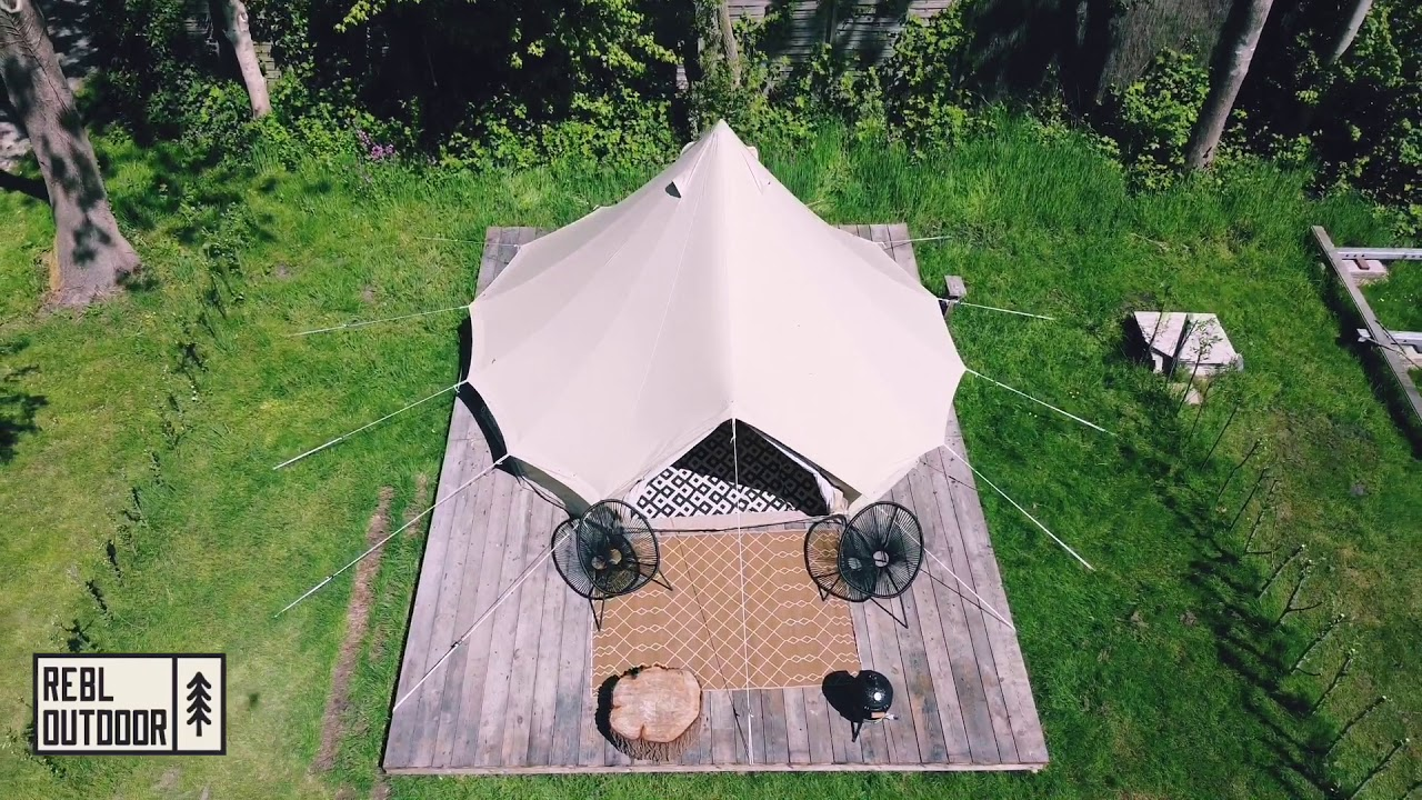 Bell Tent Tamme – #5 REBL Outdoor | Bell Tent Glamping in