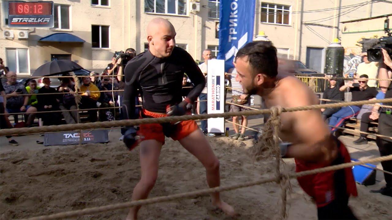 SKULL vs THAI BOXER !!! Fast Fight !!!