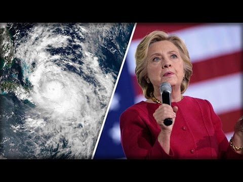 SHAMEFUL! CLINTON EXPLOITS HURRICANE MATTHEW FEARS, BUYS WEATHER CHANNEL ADS