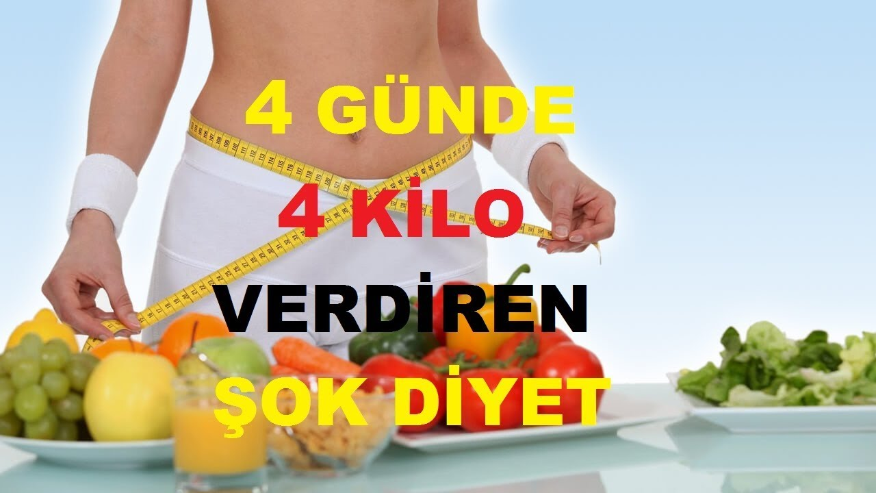 Diyet listesi-24 yaş için 1 haftada 5 kilo verdiren diyet listesi