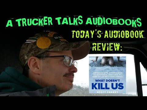 Today's Audiobook Review: What doesn't kill us