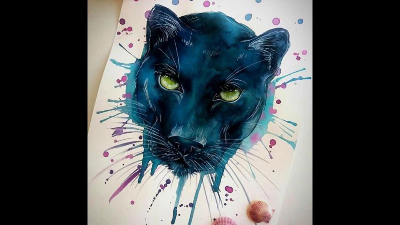 The Best Panther Tattoos Los Mejores Tatuajes De Pantera Youtube